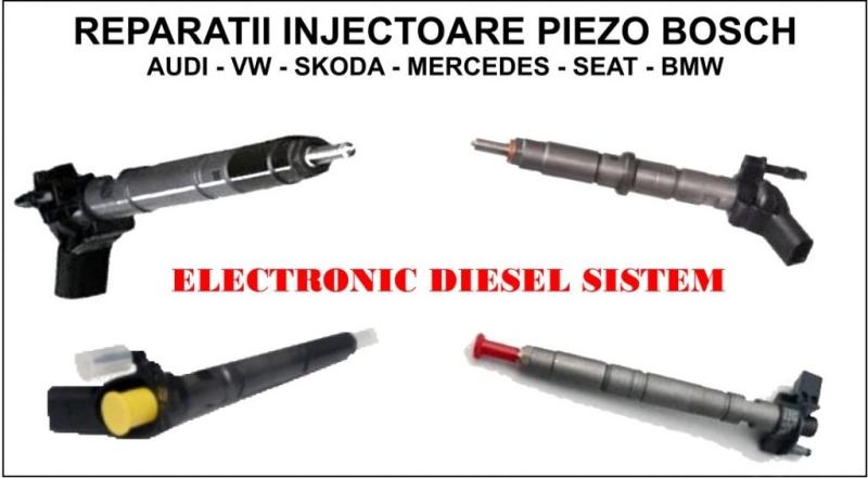 Reparatii injectoare Piezo Bosch | Reconditionari injectoare Piezo Bosch