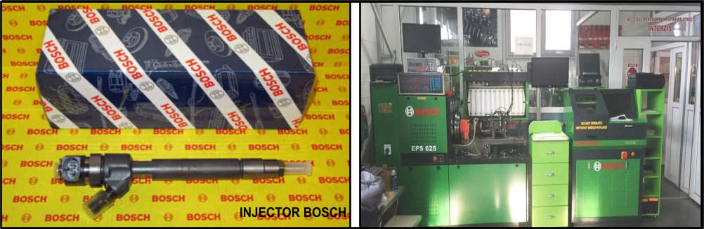 Reparatii injectoare Bosch | Reconditionari injectoare Bosch