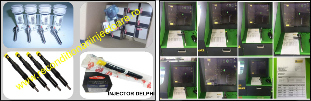 Reparatii injectoare Delphi | Reconditionari injectoare Delphi