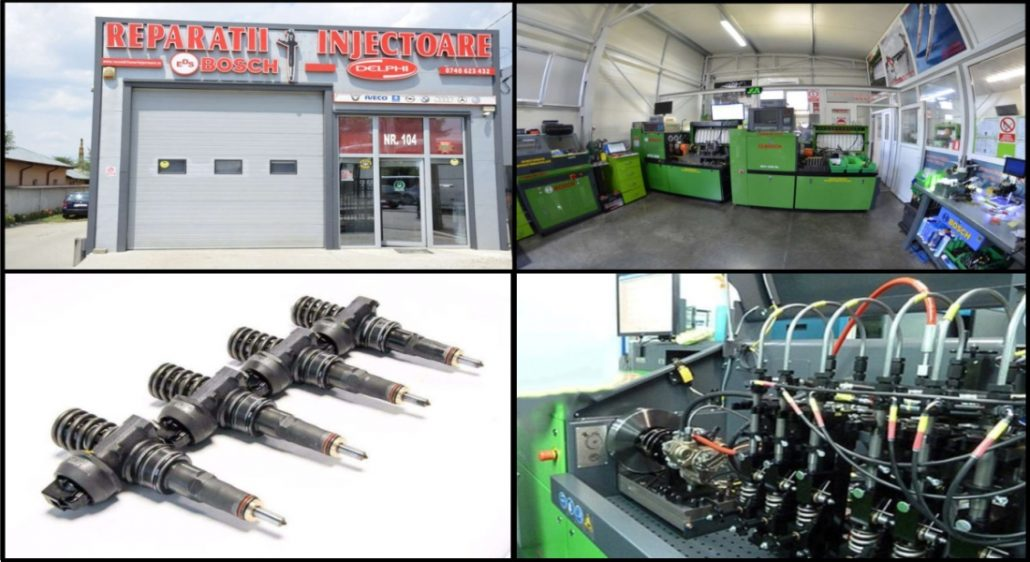 Reparatii injectoare motor AQM