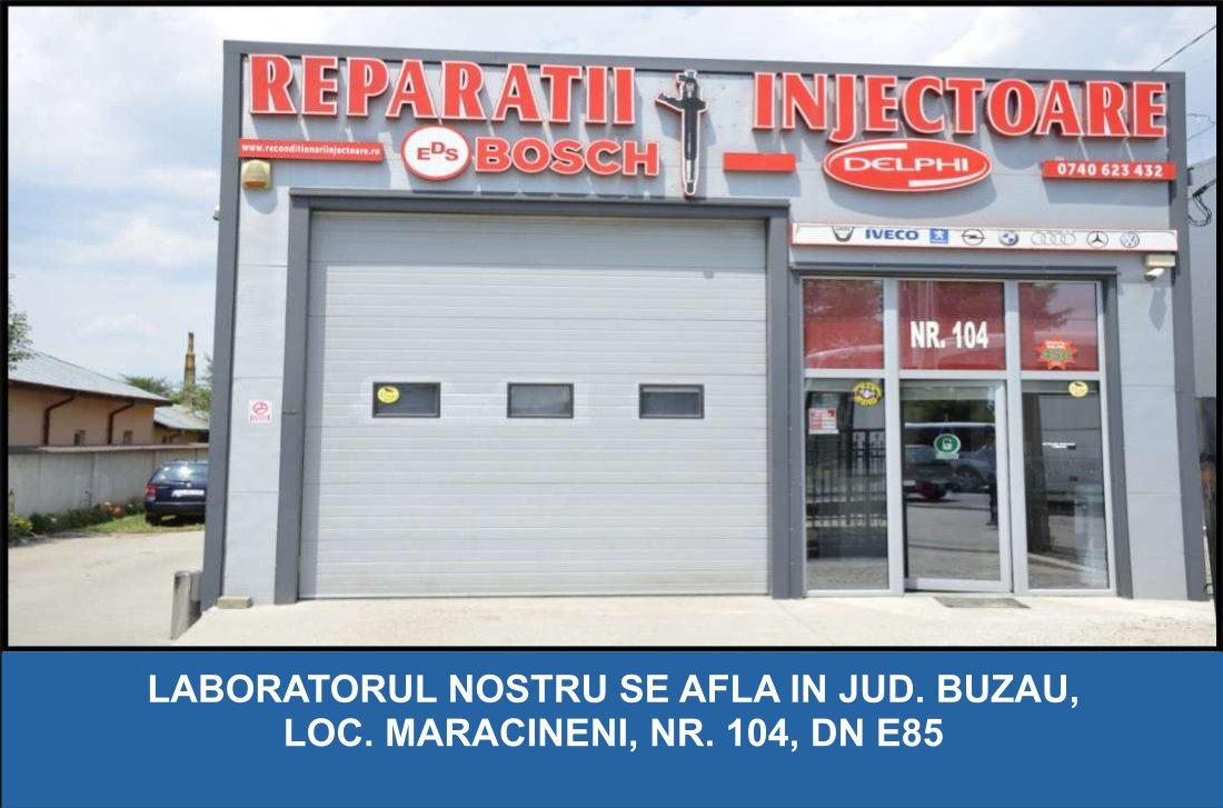 Service Injectoare Bosch Buzau